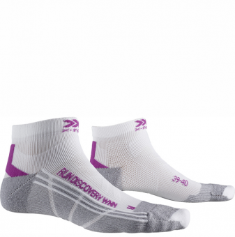 Носки для бега женские X-Socks Run Discovery White/Twyce