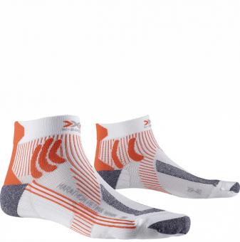 Носки женские X-Socks Marathon Retina White/Orange