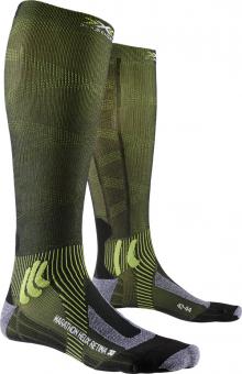 Носки для бега X-Socks Marathon Helix Retina Black Melange