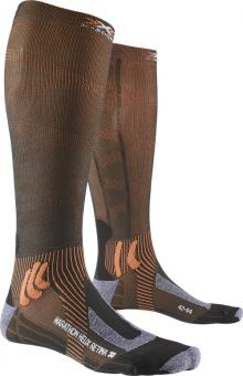 Носки для бега X-Socks Marathon Helix Retina Stone Grey Melange
