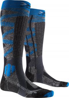 Термоноски X-socks Ski Rider Silver 4.0 Stone Grey Melange