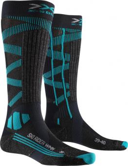 Термоноски женские X-Socks Ski Rider Silver 4.0 Stone Grey