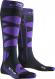 Термоноски женские X-Socks Ski Control 4.0 Charcoal Melange/Purple 1