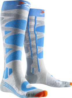 Термоноски женские X-Socks Ski Control 4.0 Grey Melange