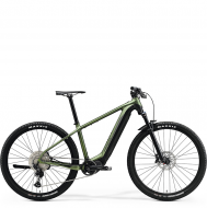 Электровелосипед Merida eBig.Nine 700 (2021) MattGreen/Black