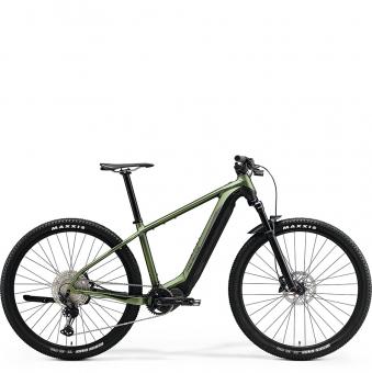 Электровелосипед Merida eBig.Nine 700 (2021) MattGreen/Black