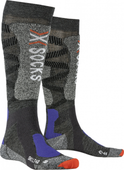 Термоноски Носки X-Socks Ski Light 4.0 Anthracite Melange