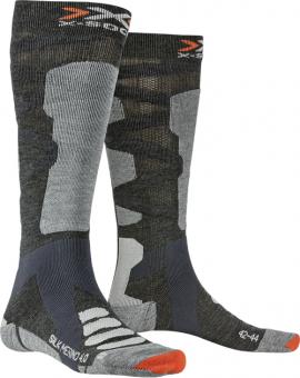 Термоноски X-Socks Ski Silk Merino 4.0 Anthracite Melange