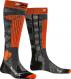 Термоноски X-Socks Ski Rider 4.0 Stone Grey Melange/X-Orange 1