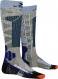Термоноски женские X-Socks Ski Rider 4.0 Stone Grey Melange/Mineral Blue 1