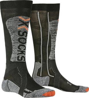 Термоноски X-Socks Ski Energizer Light 4.0 Black/Stone Grey Melange