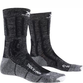 Термоноски X-Socks Trek X Linen Dolomite Grey Melange
