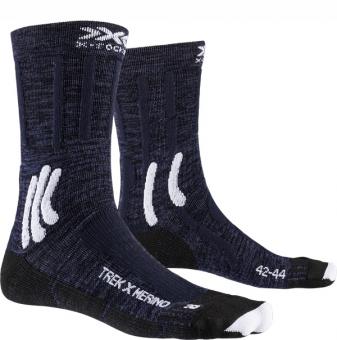 Термоноски X-Socks Trek X Merino Midnight Blue/Arctic White