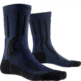 Носки X-Socks Trek X Cotton Midnight Blue Melange