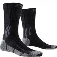 Носки X-Socks Trek Silver Opal Black/Dolomite Grey Melange