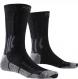 Носки X-Socks Trek Silver Opal Black/Dolomite Grey Melange 1