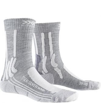 Носки женские X-Socks Trek Silver Dolomite Grey Melange