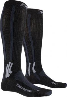 Носки X-Socks Trekking Expedition Opal Black/Dolomite Grey Melange