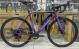 Велосипед циклокросс Merida Mission CX 600 (2021) MattDarkPurple/Silver-Green 2