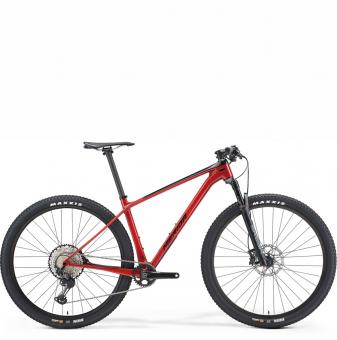 Велосипед Merida Big.Nine XT (2021) Black/X'MasRed