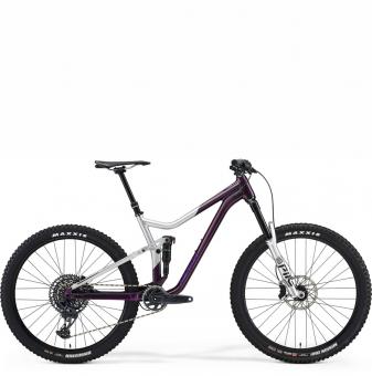 Велосипед Merida One-Forty 800 (2021) Purple/Silver