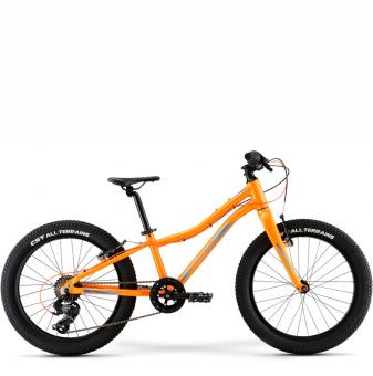 Детский велосипед Merida Matts J20+ Eco (2021) MetallicOrange/Blue