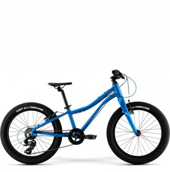 Детский велосипед Merida Matts J20+ Eco (2021) Blue/DarkBlue/White