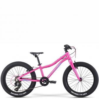 Детский велосипед Merida Matts J20+ Eco (2021) SilkCandyPink/Purple/Blue