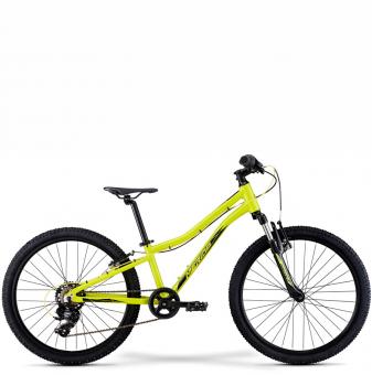 Подростковый велосипед Merida Matts J24 Eco (2021) Yellow (Black)