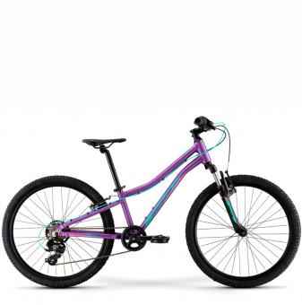 Подростковый велосипед Merida Matts J24 Eco (2021) Purple (Teal)