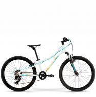 Подростковый велосипед Merida Matts J24 Eco (2021) White (Teal)