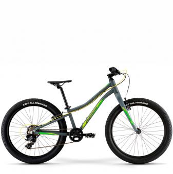 Подростковый велосипед Merida Matts J24+Eco (2021) Gray (Green)