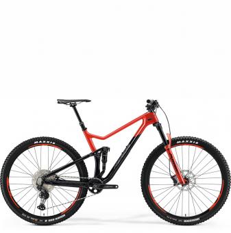 Велосипед Merida One-Twenty 9.3000 (2021) Black/GlossyRaceRed