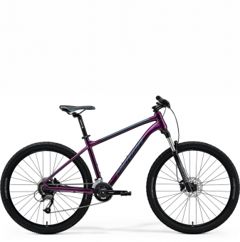 Велосипед Merida Big.Seven 60-3x (2021) Purple/Teal-Blue