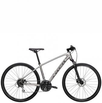Велосипед Trek Dual Sport 2 (2021) Metallic Gunmetal