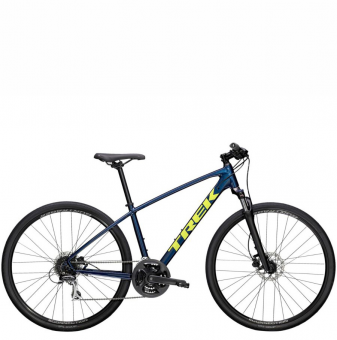Велосипед Trek Dual Sport 2 (2021) Mulsanne Blue