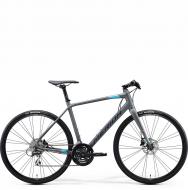 Велосипед Merida Speeder 100 (2021) MattCoolGrey/Blue/Red
