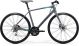 Велосипед Merida Speeder 100 (2021) MattCoolGrey/Blue/Red 1