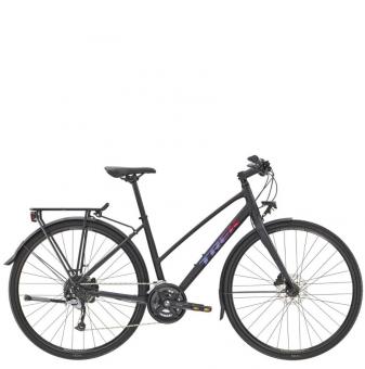 Велосипед Trek FX 3 Equipped Stagger (2021) Voodoo Trek Black