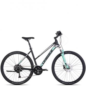 Велосипед Unibike Crossfire (2021) Back/Turquoise