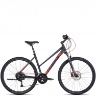 Велосипед Unibike Crossfire (2021) Black Red