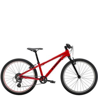Подростковый велосипед Trek Wahoo 24 (2021) Viper Red/Trek Black