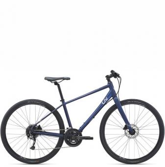 Велосипед гравел Giant Liv Alight 1 DD Disc (2021) Eclipse