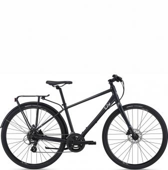 Велосипед Giant LIV Alight 2 DD City Disc 28 (2021) Gunmetal Black