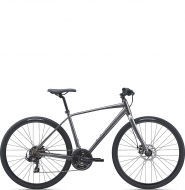 Велосипед Giant Escape 3 Disc (2021) Metallic Black