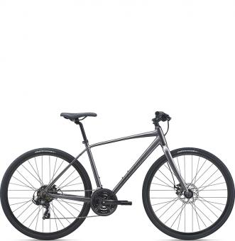Велосипед Giant Escape 3 Disc (2021) Metallic Black