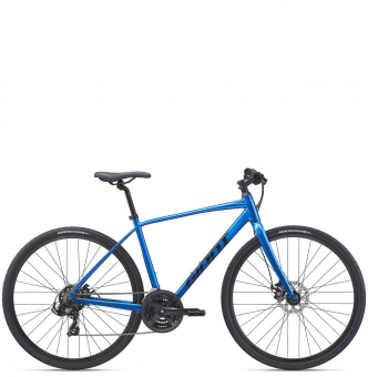 Велосипед Giant Escape 3 Disc (2021) Metallic Blue
