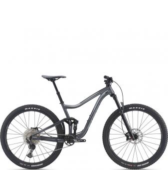 Велосипед Enduro Giant Trance 3 (2021) Black Ti/Black