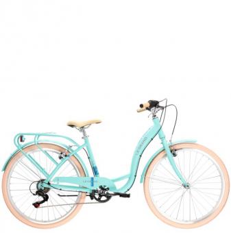 Велосипед Le Grand Lille 1 (2021) Celadon/Blue/Matte