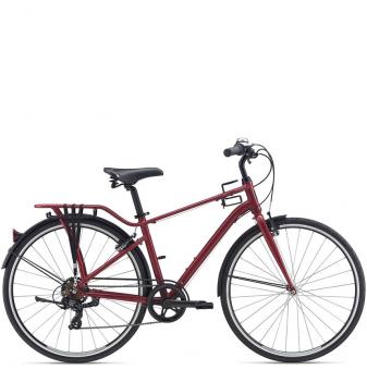 Велосипед Giant Momentum iNeed Street (2021) Dark Red